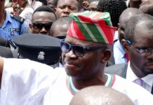 Zenith Bank, donations funded my election – Fayose