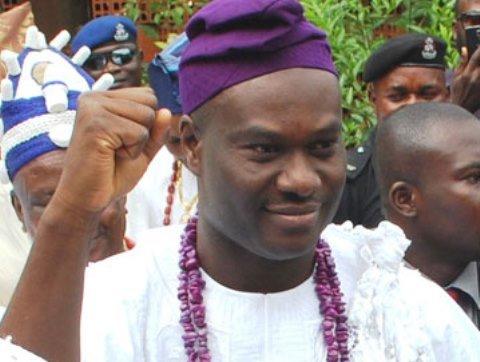 Ooni-elect, Enitan Ogunwusi, storms Ile-Ife in style