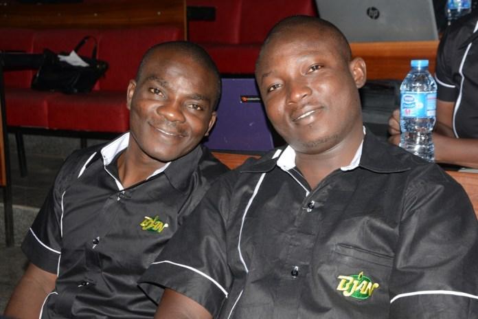 Suleiman Idris and Kayode Adelowokan, Managing Editor, NEWSVERGE