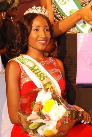 Winner of Miss Nigeria 2015, Pamela Peter-Vigboro Leesi