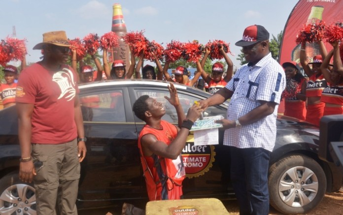 Hair dresser emerges first female to win car in Gulder's Ultimate promo