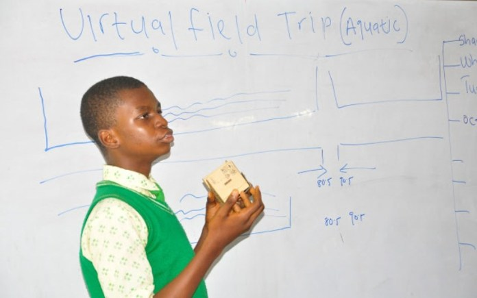 First Virtual Reality Educational field trip in Nigeria