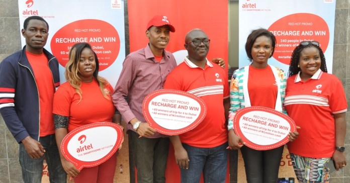 """How to win N1m, Dubai trip in Airtel's """"Red Hot Promo"""""""