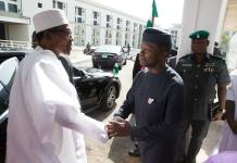 JUST IN: Buhari goes on vacation, as Osinbajo takes over