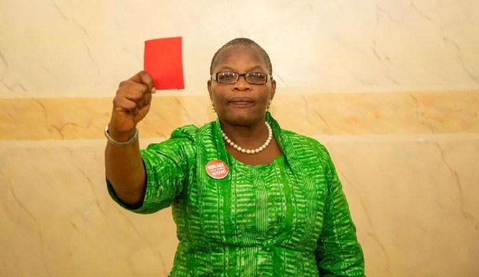 Ezekwesili leaves Nigeria's presidential race for Buhari, Atiku