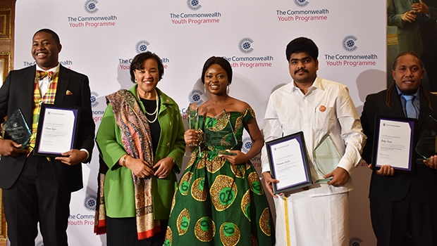 Nigeria's Osowobi wins Commonwealth Youth Person of the Year 2019