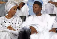 Osinbajo, wife at hometown for thanksgiving service