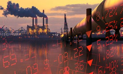 Oil races to near six-month highs on Iran sanctions, stocks rise