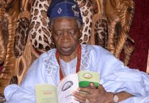 Tinubu mourns death of Olowo of Owo