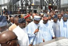 Buhari inaugurates 5.7km Murtala Mohammed International Airport Road