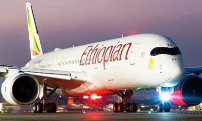 Ethiopian Airlines blames bad weather for aborted Lagos Airport landing
