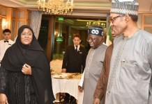Tinubu meets Buhari in Makkah, urge elders to avoid inflammatory statements