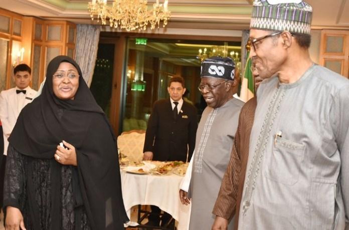 Tinubu meets Buhari in Makkah, urge elders to avoid inflammatory statements