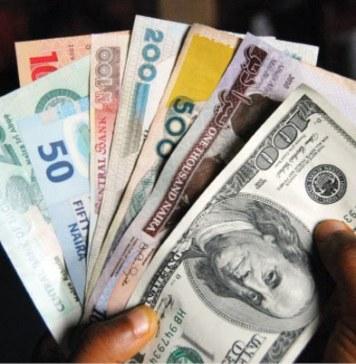 Naira exchanges at N359.4 to dollar at parallel market