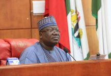 Senate President urges strengthened partnership between Nigeria, U.S