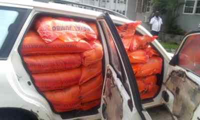 Customs intercepts rice, other goods worth N47m