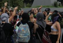 Riots as Mexico City protesters march against alleged police rapes