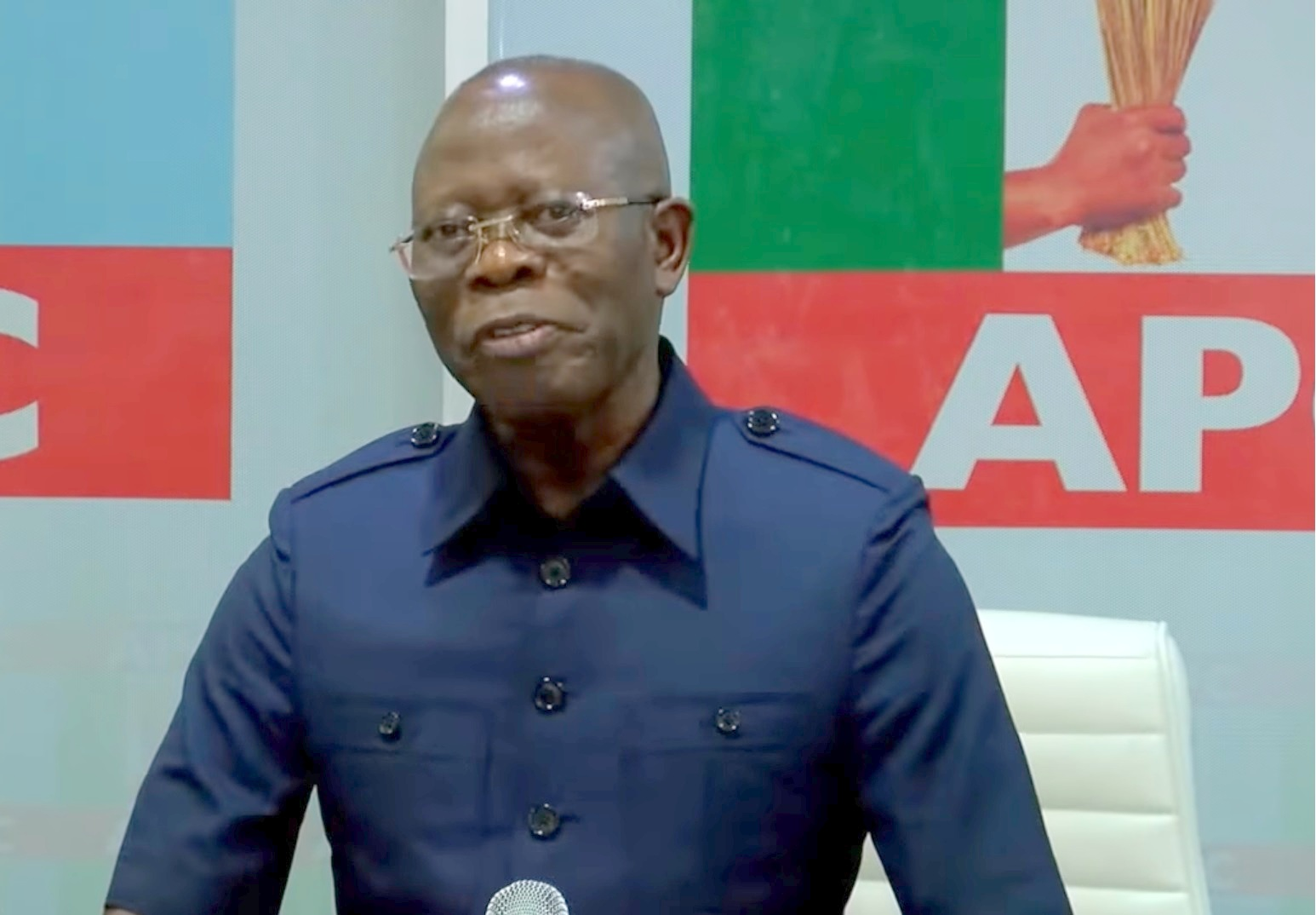 APC governors want Oshiomhole to call NEC meeting
