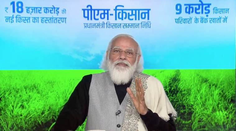 PM Modi releases Rs 18,000 cr installment under PM-Kisan - News Vibes of  India