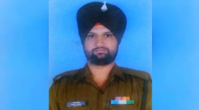 Army soldier killed