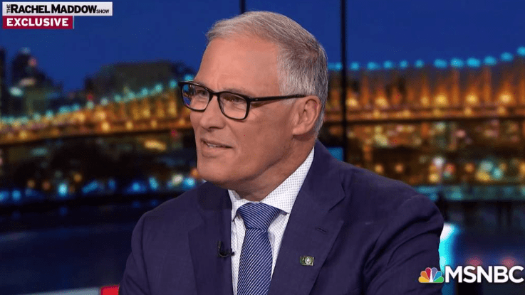 WA Gov. Jay Inslee exits the 2020 Democratic presidential primary race