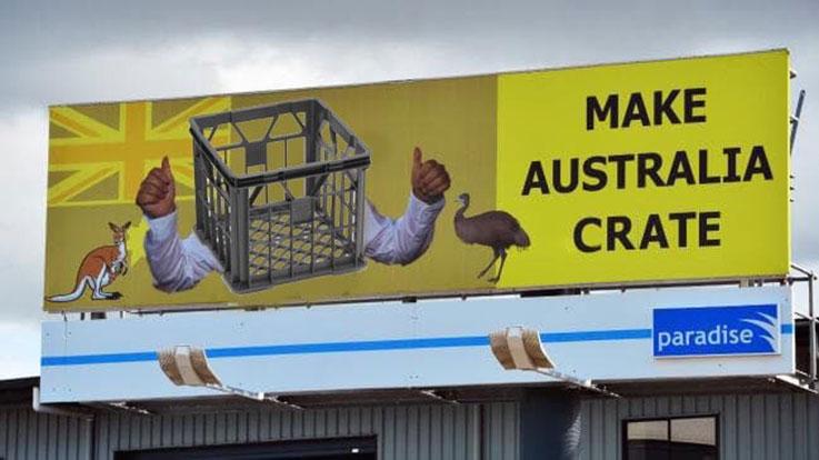 Make Australia Crate Again