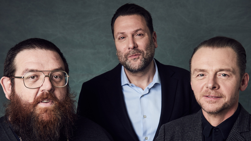 """Simon Pegg & Nick Frost to star in new Amazon Prime series """"Truth Seekers"""""""