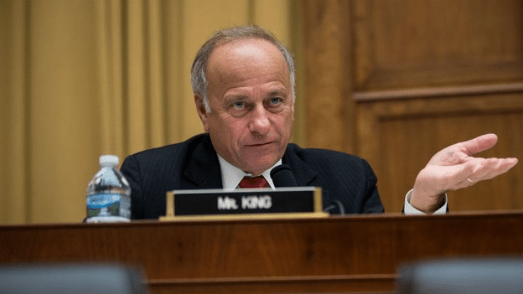 Rep. Steve King: 'I drank from a toilet and it was pretty good.'