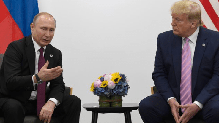 Trump again blames Obama for Russia's ouster from the G-7