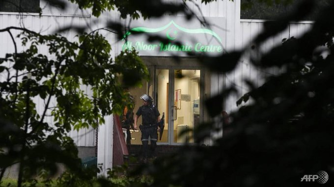 Suspect taken into custody  for shooting at an Islamic Centre-Oslo, Norway