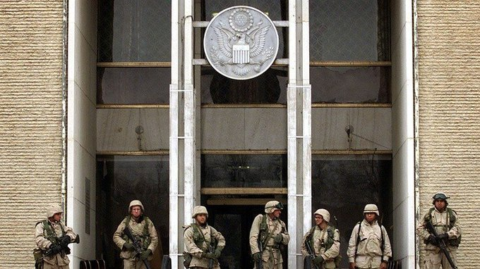 Rocket explosion at US Embassy in Kabul on 9/11 anniversary