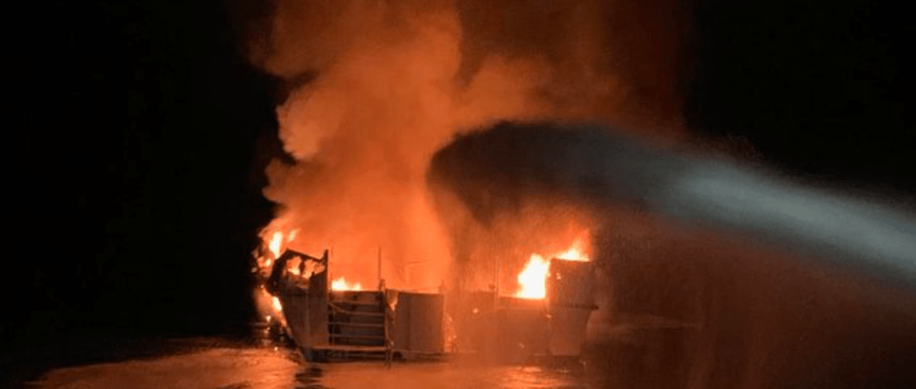 Multiple people dead after boat catches fire