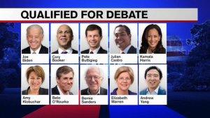 Third Democratic Primary Debate