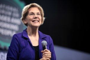 Elizabeth Warren on Mayor Bloomberg: 'I've been nice to some women.'