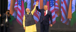 "Liveblog - Trump attends the ""Howdy, Modi"" rally for India's Prime Minister Narendra Modi"