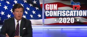 Tucker Carlson claims gun buybacks will cause 'civil war'
