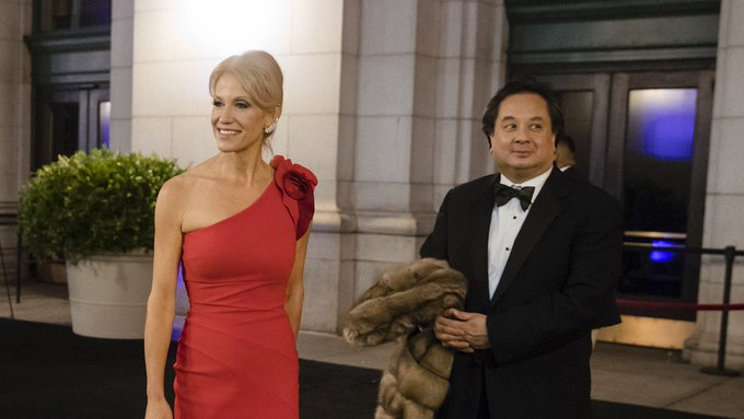 Reporter posts heated phone call with Kellyanne Conway