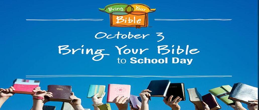 LETTUCE PREY: It's 'Bring Your Bible to School Day' in Kentucky
