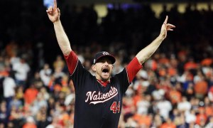 Washington Nationals win the World Series; first title ever