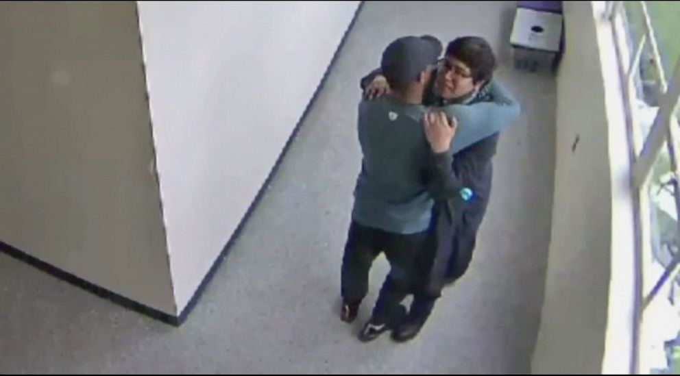 Video released of Oregon high school coach disarming a student