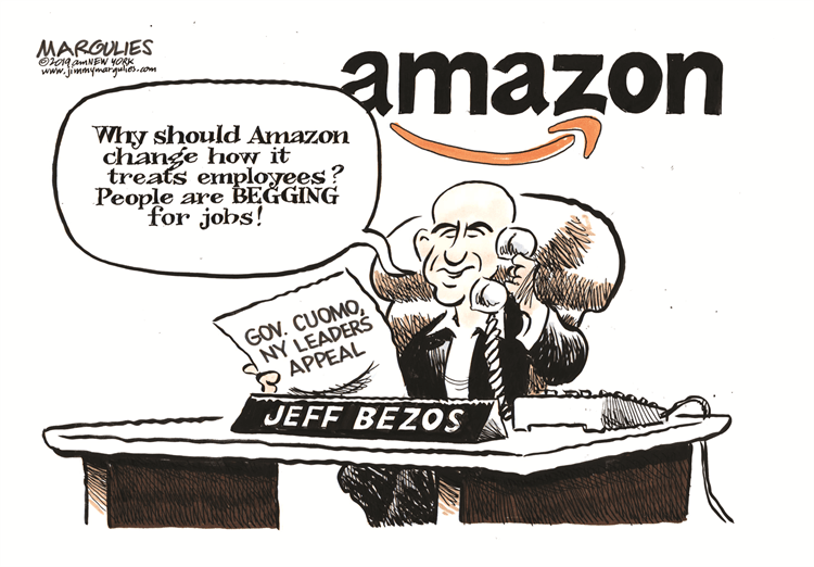 What a Amazon Fulfillment Center Says About Us