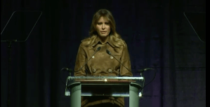 Melania went to 'rat infested' Baltimore to speak on opioid awareness; gets booed loudly