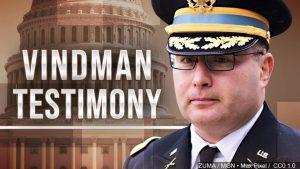 Ukrainian official says he was 'joking' when he offered Vindman defense minister job