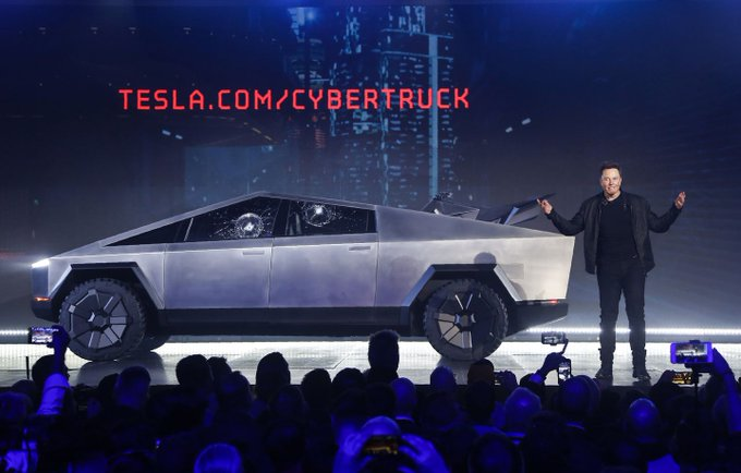 Elon Musk: 150,000 orders for Tesla cybertruck despite disastrous launch