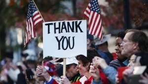 Watch live:  Trump to speak atNYC Veterans Day Parade