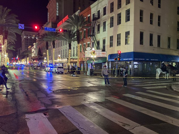 11 People shot near French Quarter in New Orleans