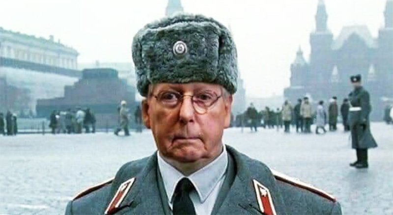 Moscow Mitch supports Trump's legal challenges to the election