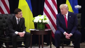 Emails Show Trump Asked About Ukraine Aid Before Zelenskiy Call