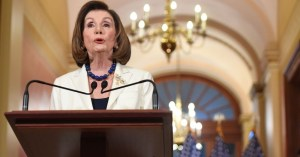 Speaker Pelosi holds her weekly press briefing