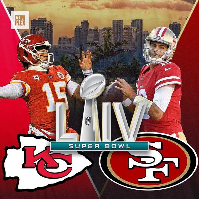 Super Bowl LIV: SF 49ers vs. KC Chiefs